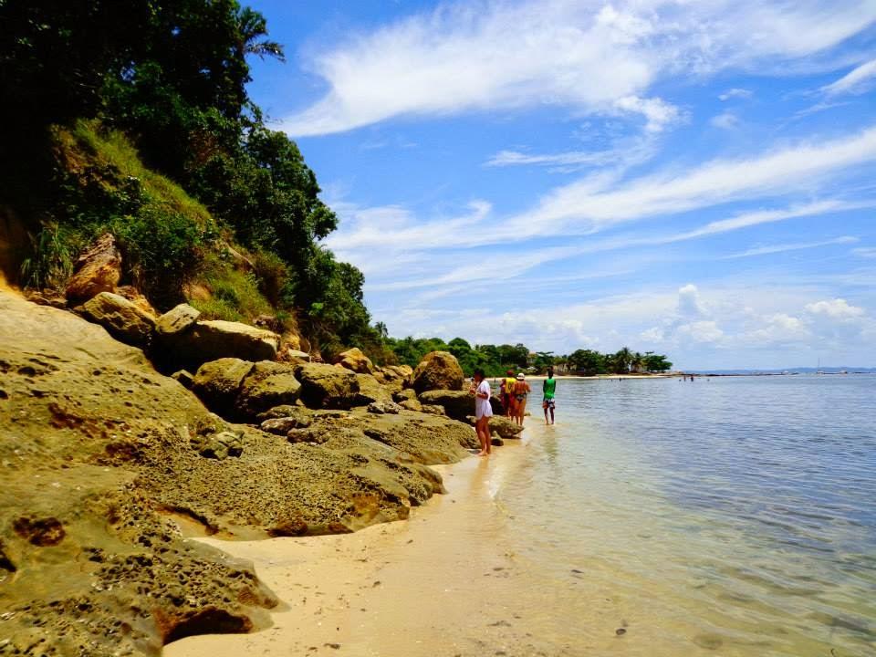 Praia de Monte Cristo em Bom Jesus dos Pobres na Bahia