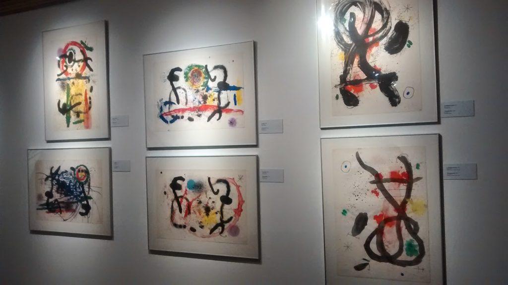Visita ao universo de Miró na Caixa Cultural Salvador