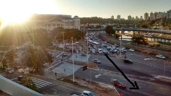 Novo trânsito no Iguatemi