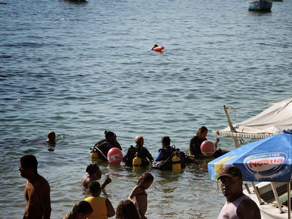 batismo mergulho galeao sacramento em salvador