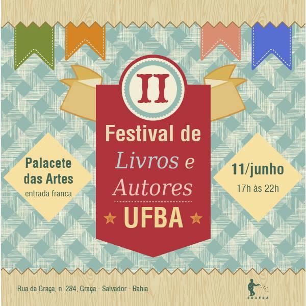 Festival de livros e autores da UFBA no Palacete das Artes