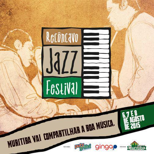Programação do Recôncavo Jazz Festival em Muritiba
