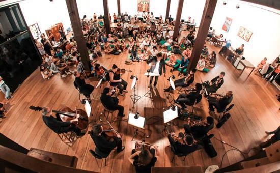 Concertos gratuitos da Orquestra Sinfônica da Bahia