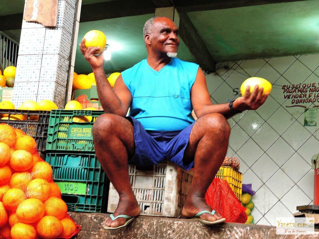 Fotografando na Feira de São Joaquim