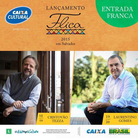 Lançamento Flica 2015 em Salvador
