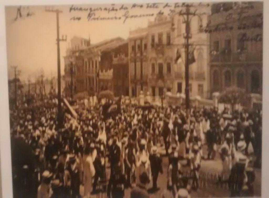 Exposição: 100 anos da Avenida Sete de Setembro