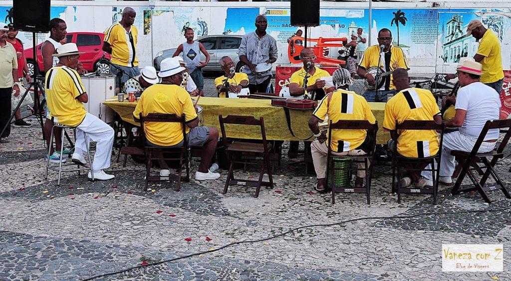 o que ver em salvador grupo samba liberdade
