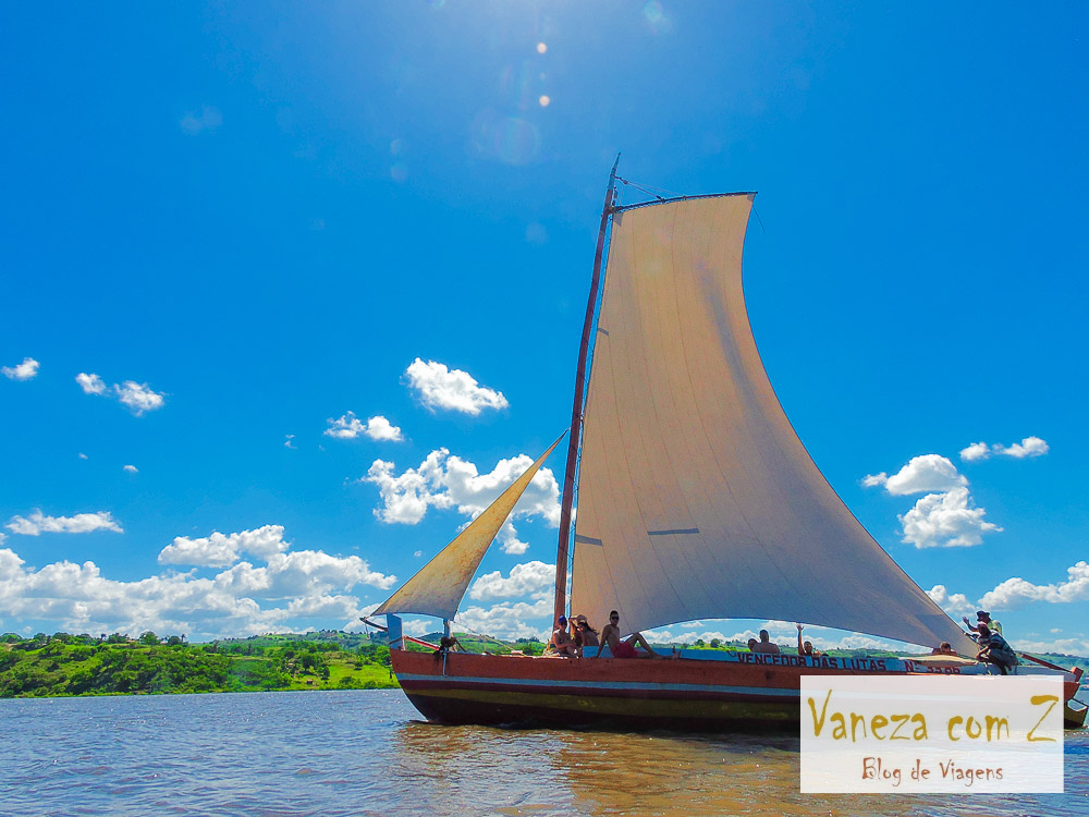 Passeio de barco pelo Rio Paraguaçu