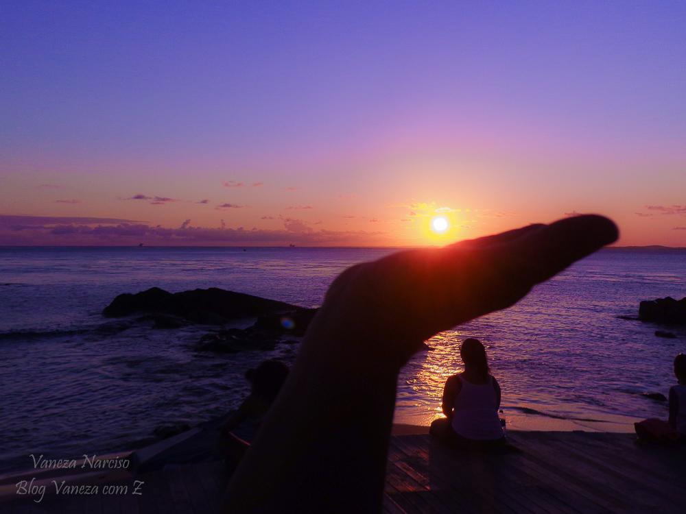 SALVADOR- ' Vamos ver o pôr do sol' na Barra