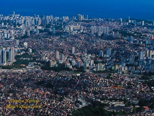 Vista aérea de Salvador