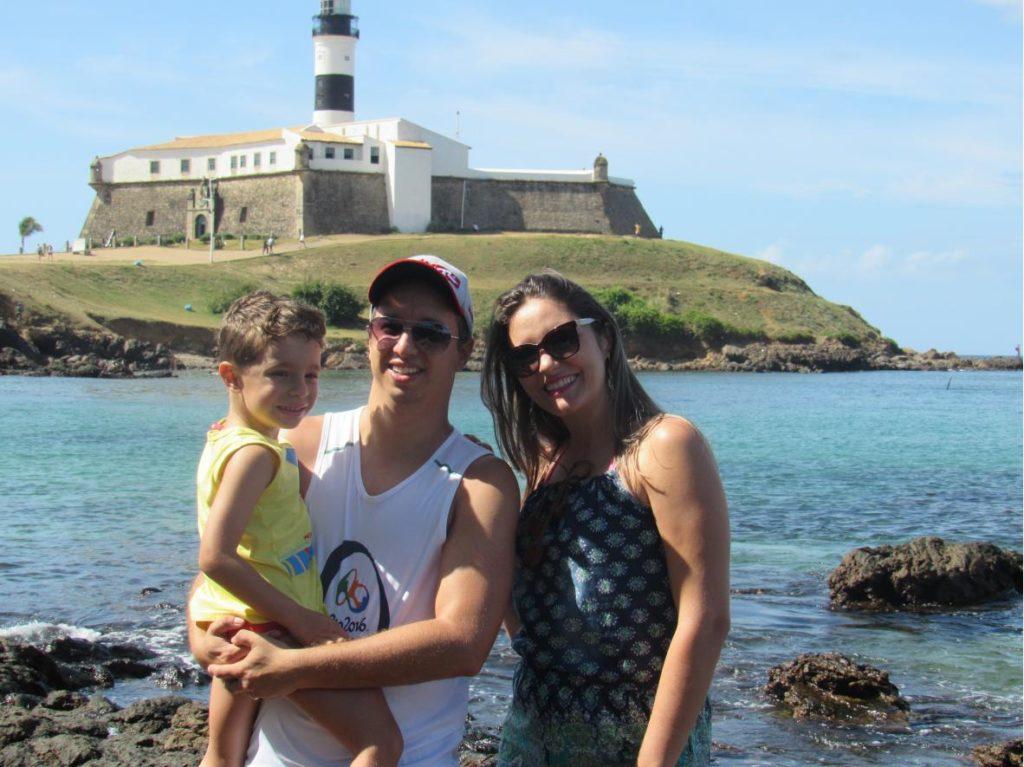Roteiro do Clodoaldo e Família em Salvador