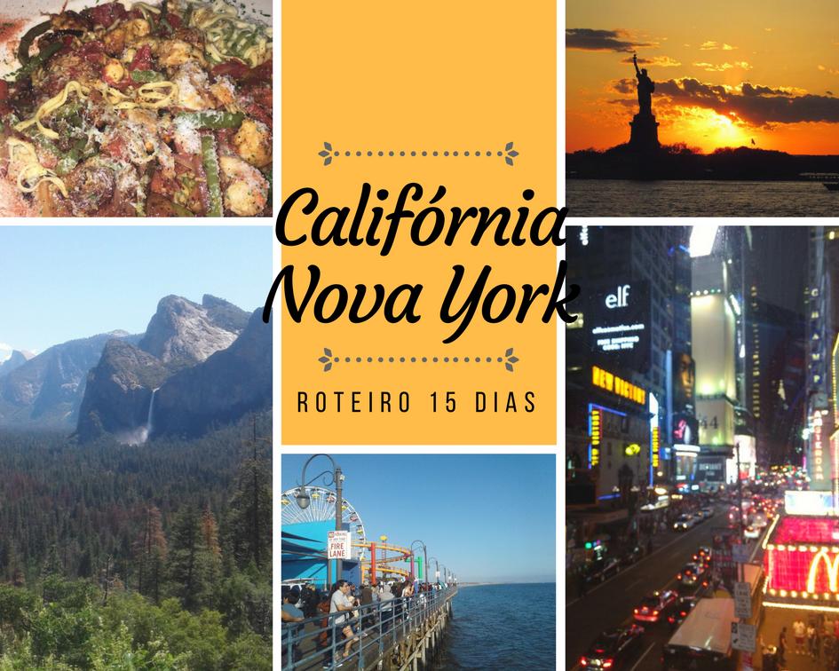 Estados Unidos em 15 dias: Califórnia e Nova York