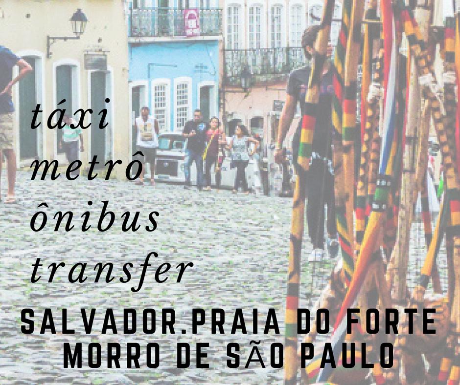 Transporte em Salvador e arredores | metrô, ônibus, táxi e transfer