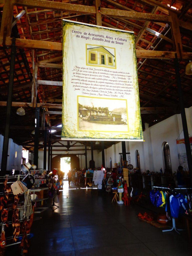 centro artesanato piranhas