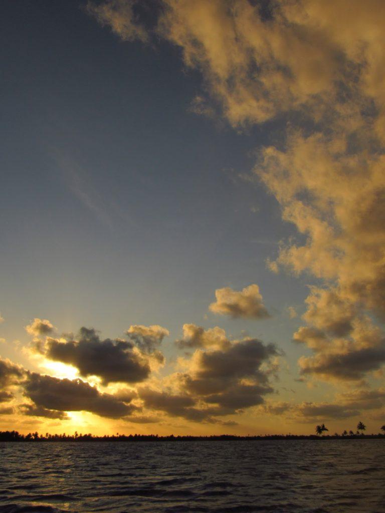por do sol rio sao francisco