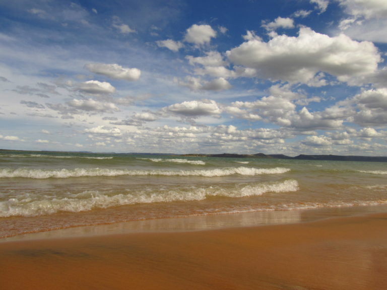 Dunas do Velho Chico, uma praia em Casa Nova Bahia