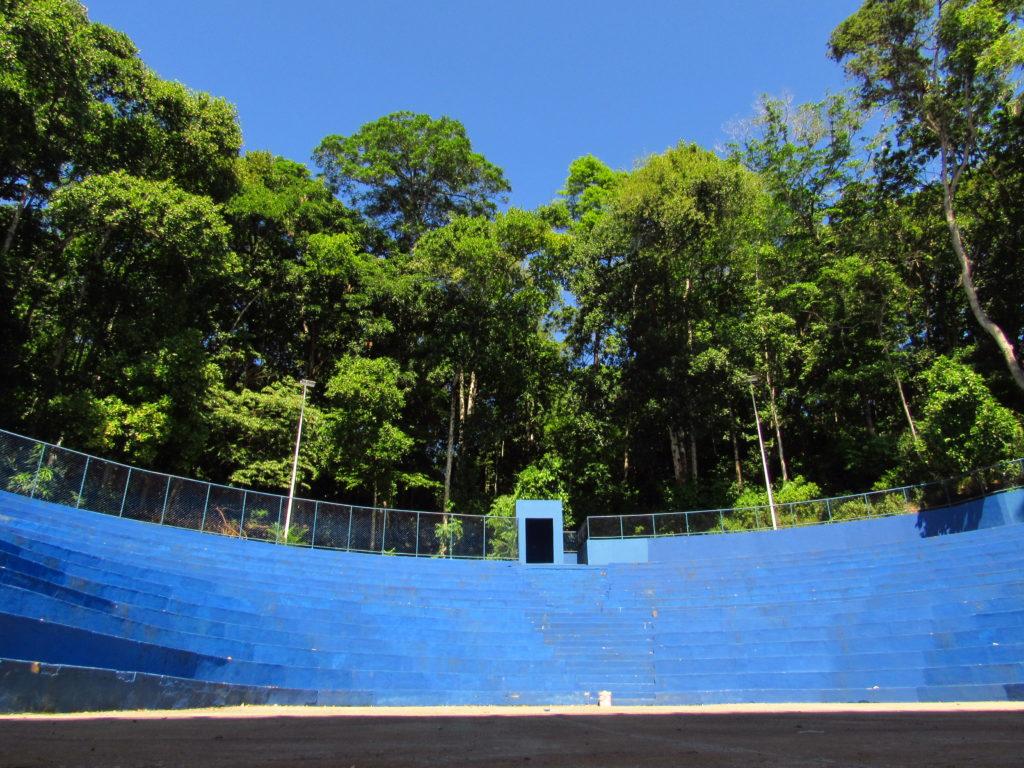 foto do anfiteatro reformado do parque da cidade salvador
