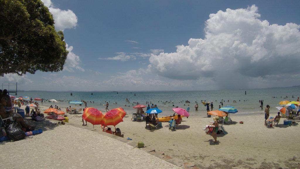 melhores praias da ilha de itaparica bahia