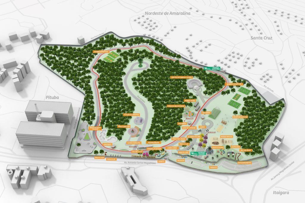 parque da cidade salvador mapa