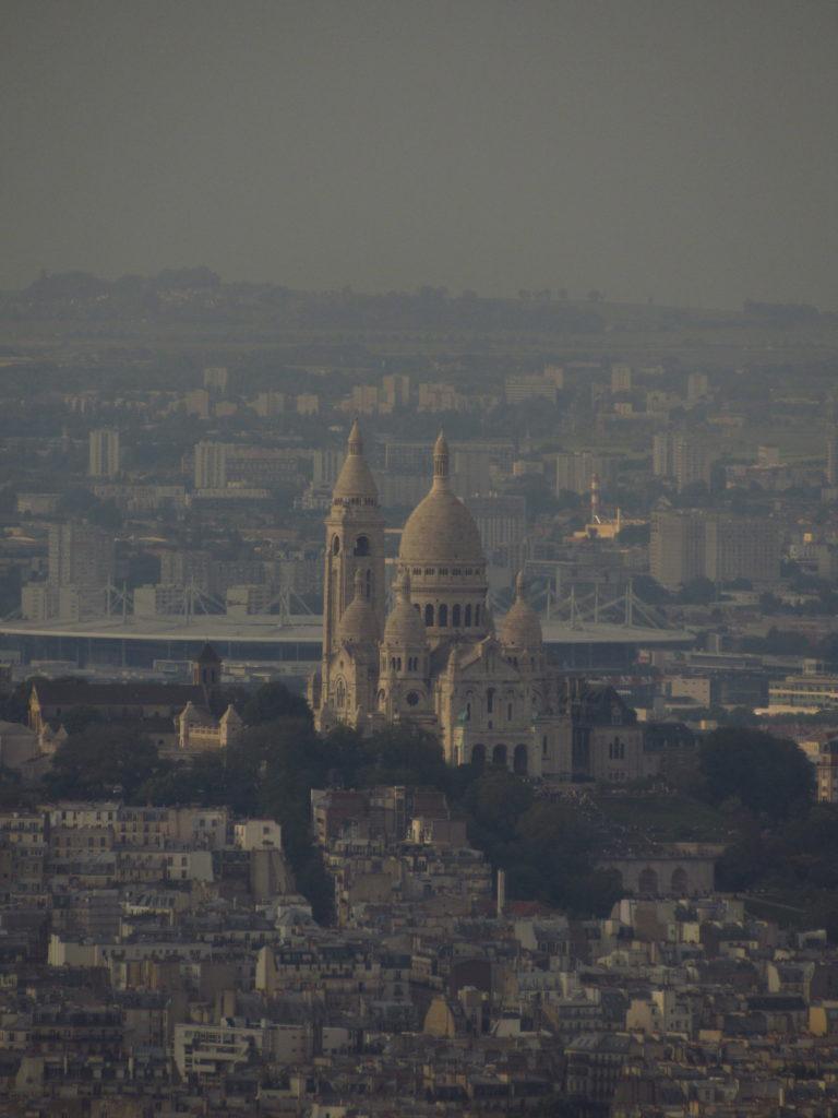 torre montparnasse vista para sacre couer