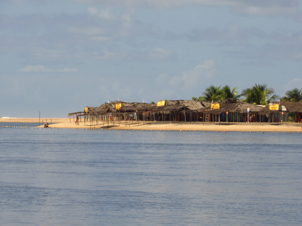 barraca de praia da barra da siribinha