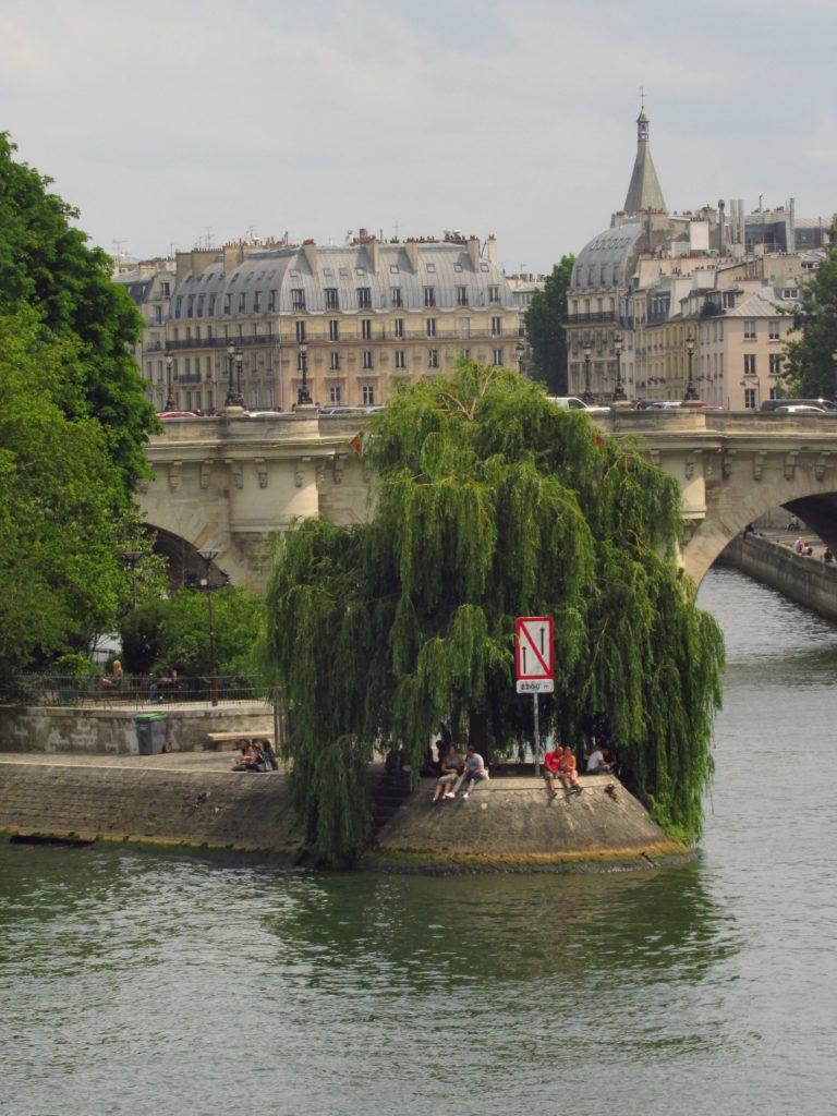 ilhas do rio sena em paris