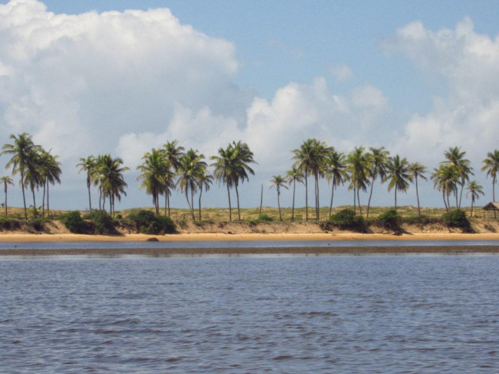 barra da siribinha navegando pelo rio itapicuru