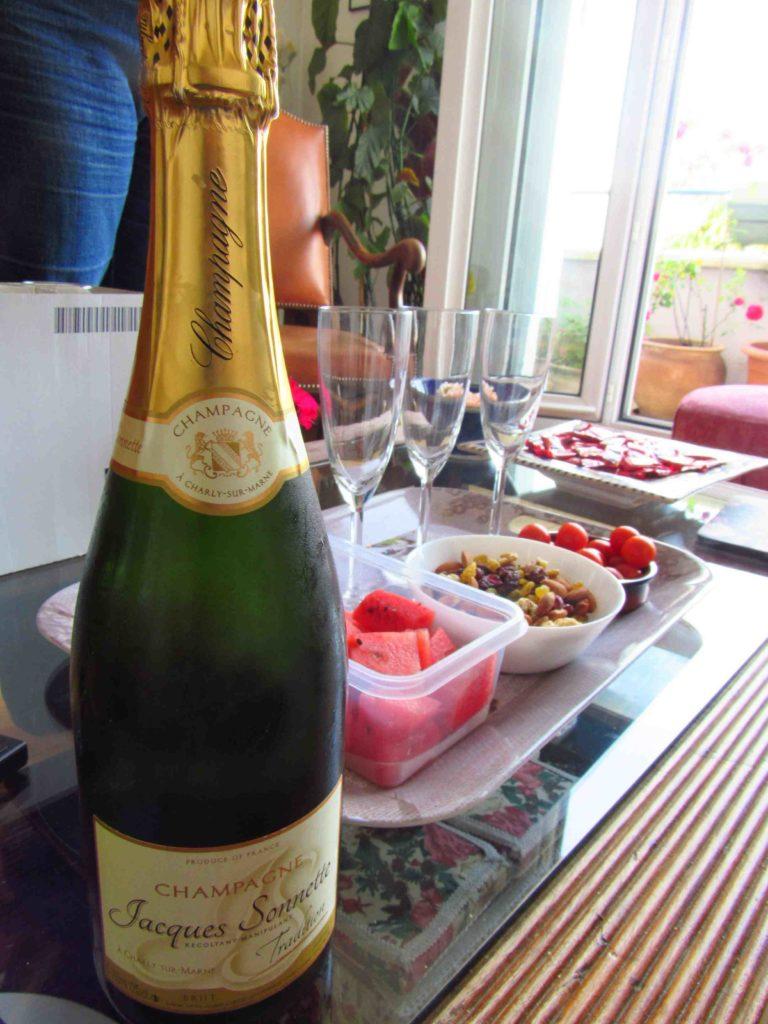 o que comer em paris vinho frances champagne