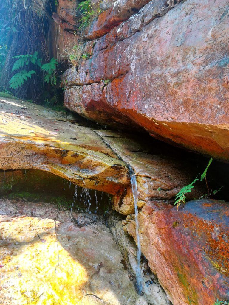 trilha cachoeira do sossego