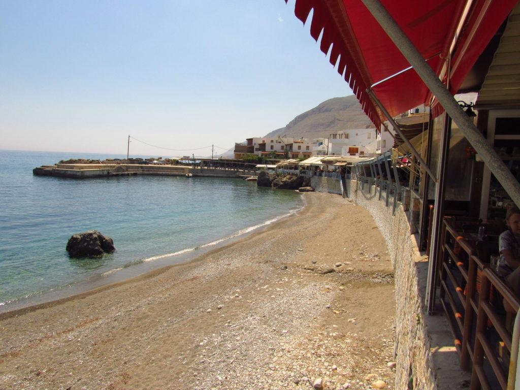 praias de plakias crete island