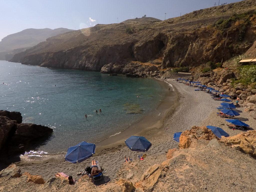 praias de plakias ilha de creta