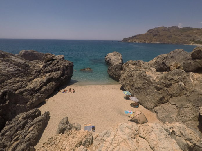praias de plakias