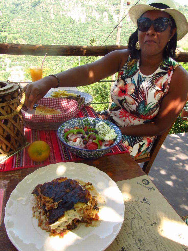 Praia de Elafonisi onde comer