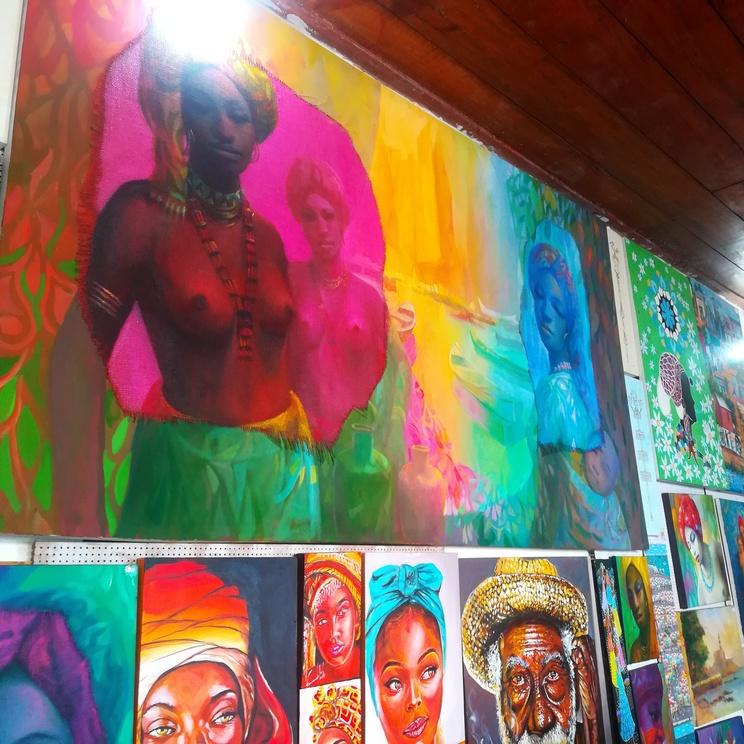 galerias de arte salvador pelourinho