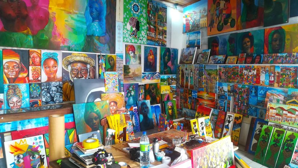 galerias de arte salvador