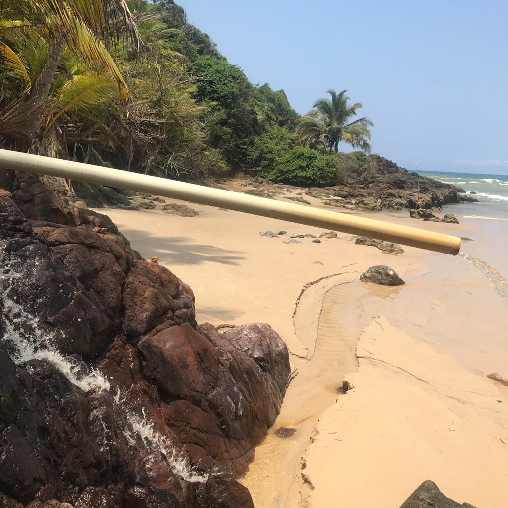 trilha das 4 praias em itacare