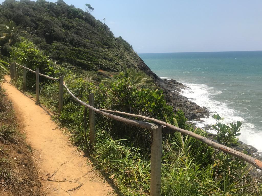 trilha da prainha itacare bahia