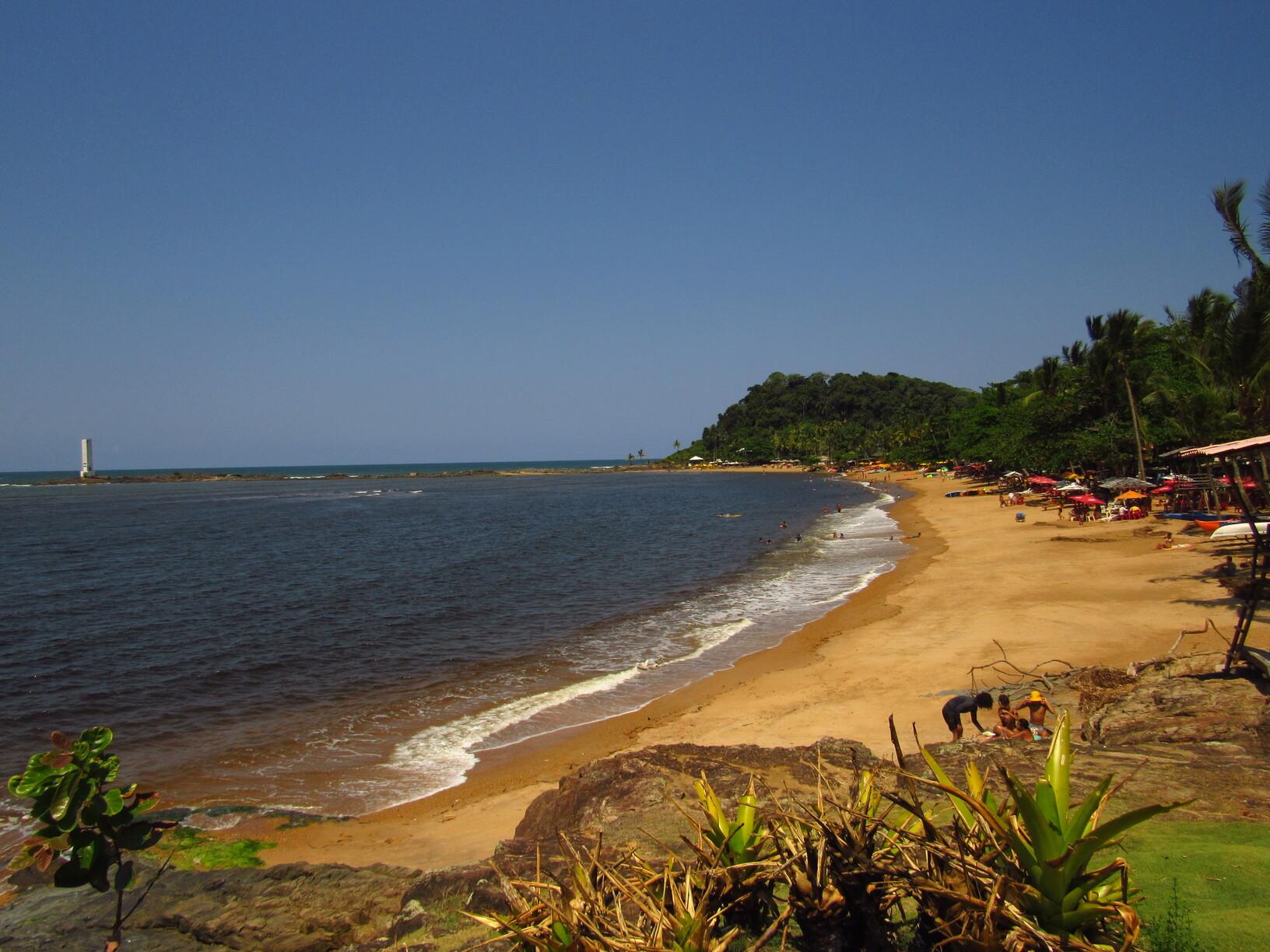 praia da concha itacare bahia