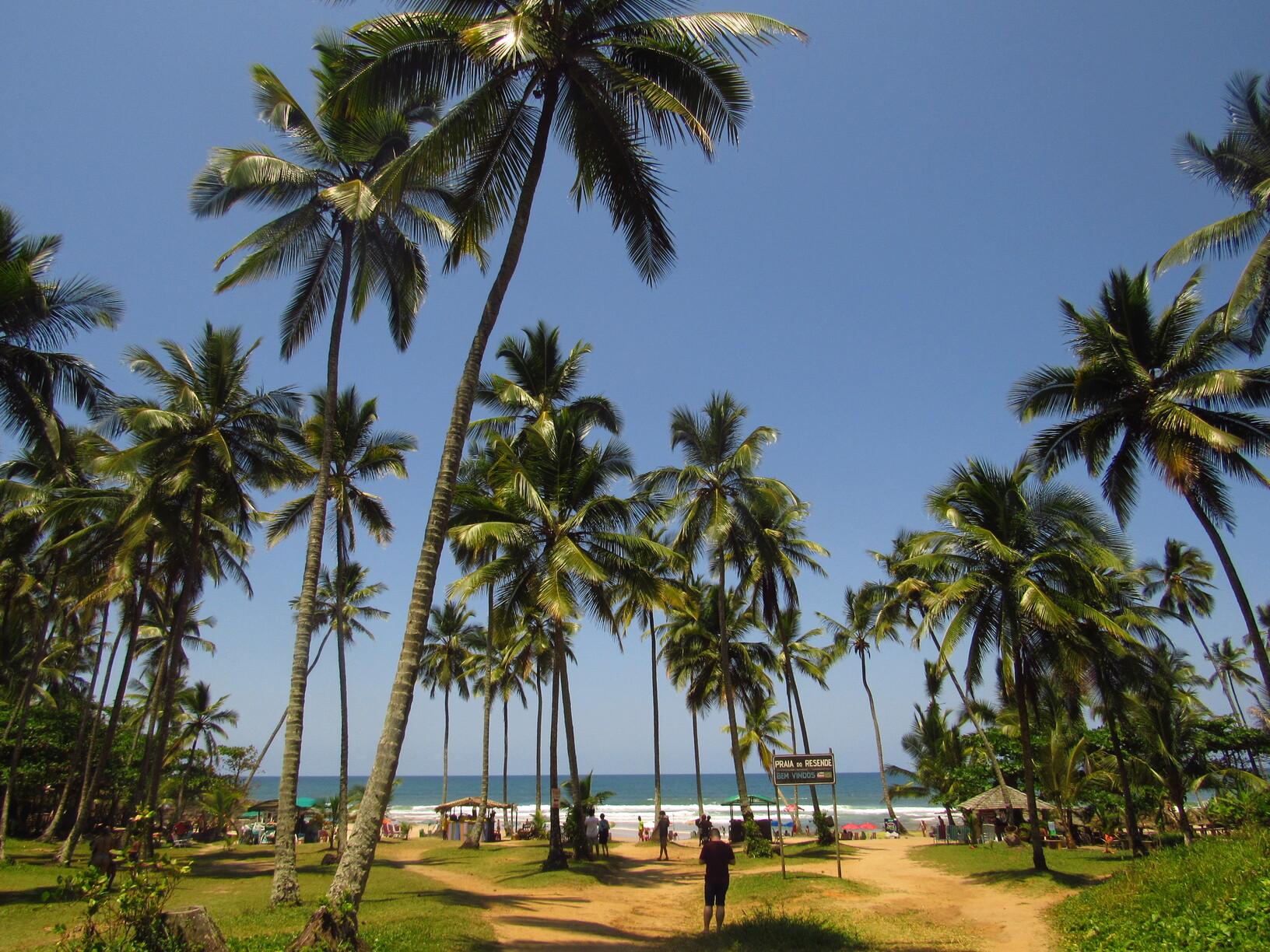 praia do rezende itacare bahia