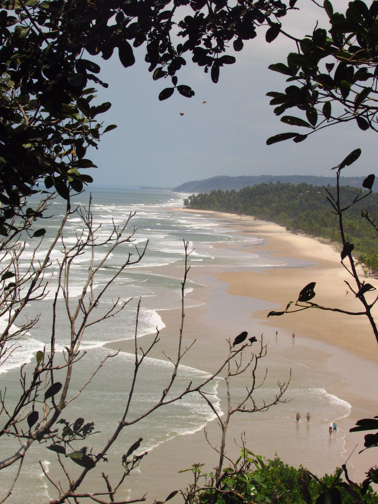 praia itacarezinho itacare bahia