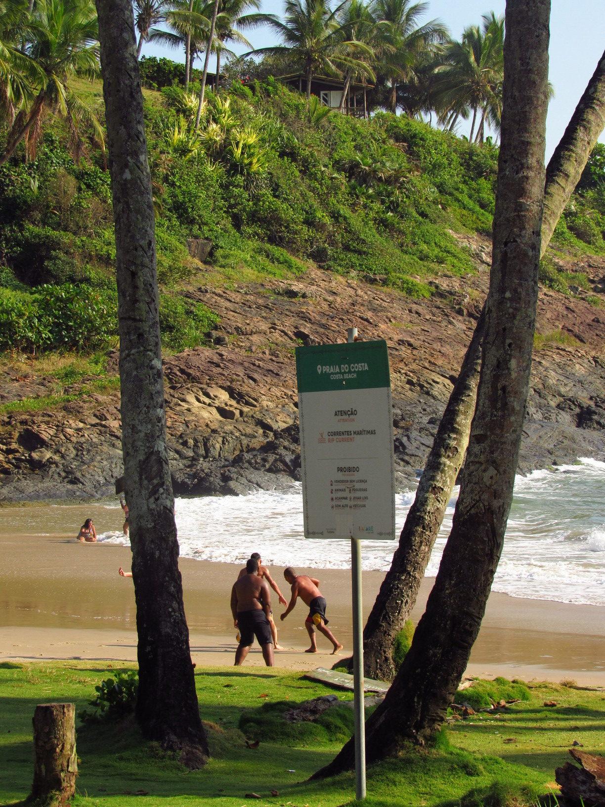 praia da costa itacare bahia